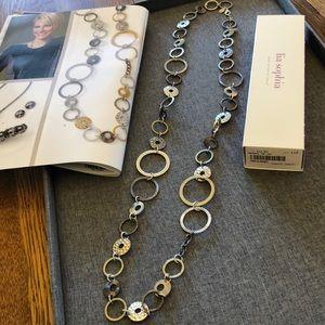 Lia Sophia necklace, Improv